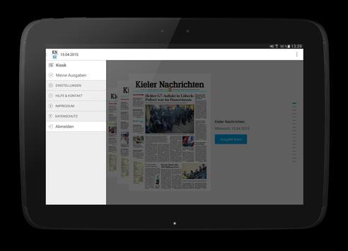 KN/SZ ePaper - Kiel und Region apk screenshot