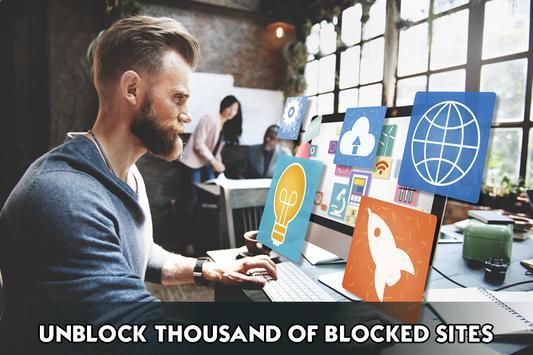 VPN 2018 Unblock Proxy Sites screenshot 8