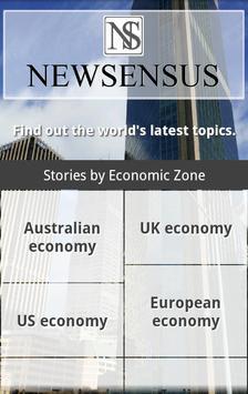 Newsensus [Business & Economy] poster