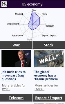 Newsensus [Business & Economy] apk screenshot