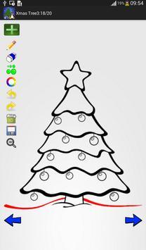 how to draw xmas tree apk screenshot - How Do You Draw A Christmas Tree