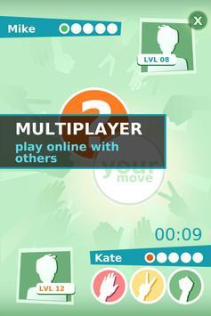 Камень, Ножницы, Бумага Онлайн скриншот 2