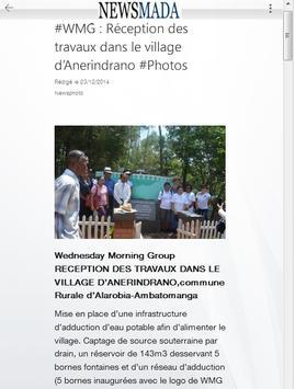 Newsmada - Actus de Madagascar apk screenshot