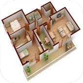 New 3D Small Home Plan icon