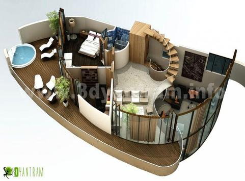 New 3D Small Home Plan poster