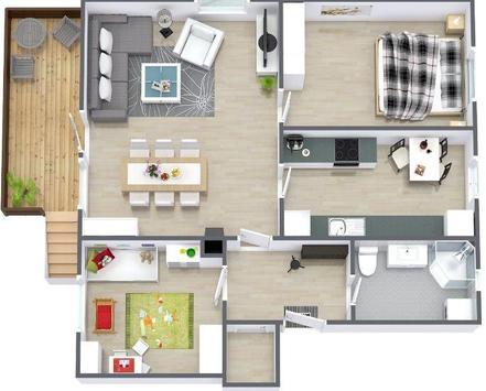 New 3D Small Home Plan apk screenshot