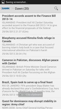 Pakistan News screenshot 5