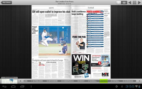 London Free Press e-edition screenshot 2