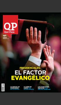 Revista Qué Pasa poster