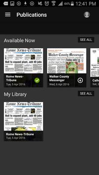 Rome News-Tribune apk screenshot