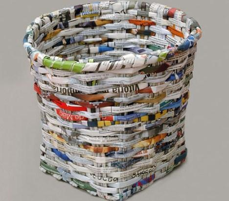 Newspaper Recycling poster