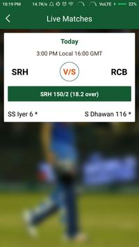 T20-20 Live Score 2017 apk screenshot