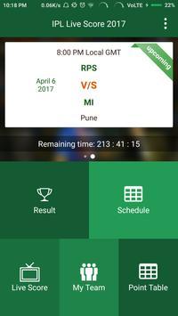 T20-20 Live Score 2017 poster