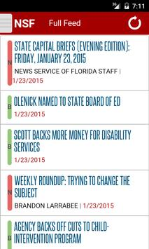 News Service Florida poster