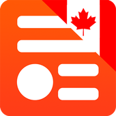 Canada News. Newsstand Canada icon