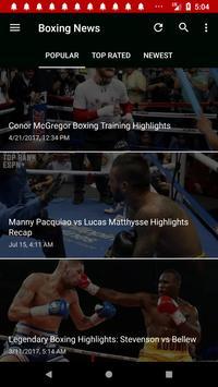 Boxing News screenshot 5