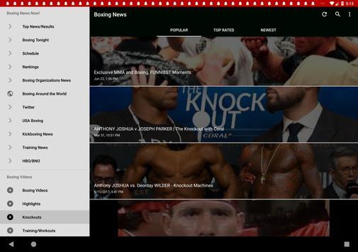 Boxing News screenshot 7