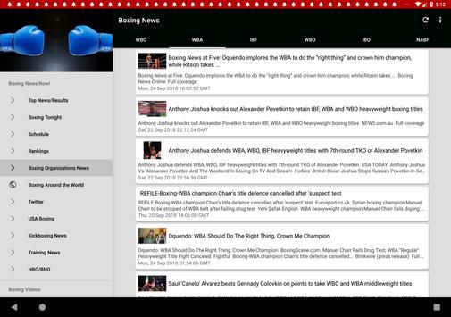 Boxing News screenshot 9