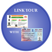 Link Aadhar with PAN Card icon