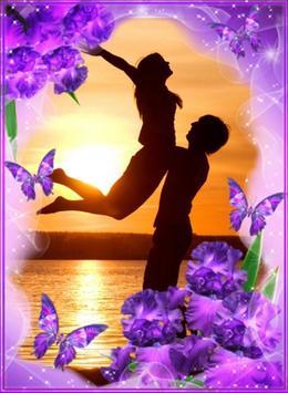 Flower Love Photo Frames poster