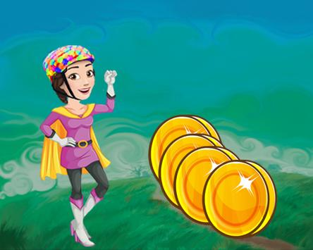 Temple Soy Luna Rush Run apk screenshot