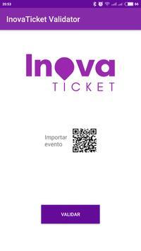 InovaTicket - Validação poster