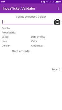 InovaTicket - Validação screenshot 1