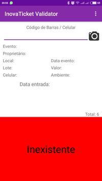 InovaTicket - Validação screenshot 3