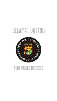 Tuba Police Officer poster