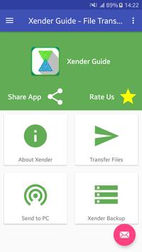 New Xender Guide-File share and Transfer screenshot 2