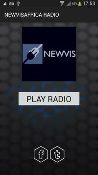 NEWVISAFRICA RADIO poster