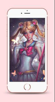 Sailor Moon Wallpapers 4K HD screenshot 4