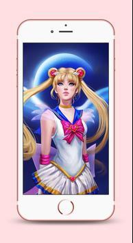 Sailor Moon Wallpapers 4K HD screenshot 9