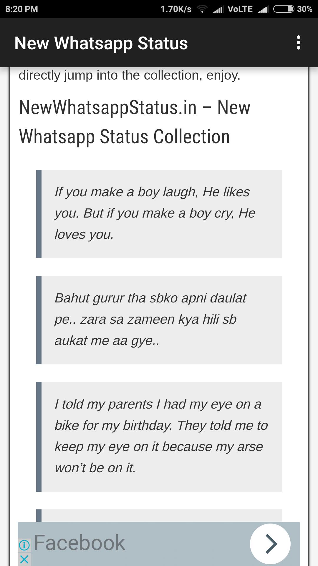 New Whatsapp Status for Android - APK Download
