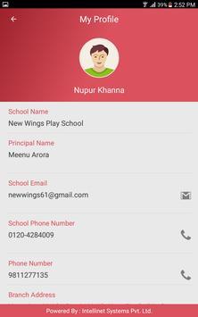 New Wings Play School apk screenshot
