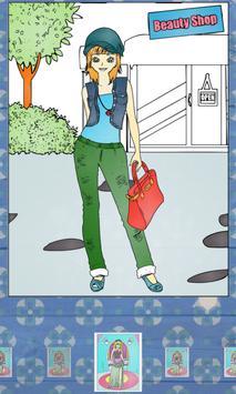 Fashion Teenage Coloring Pages screenshot 10