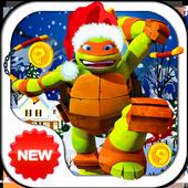 Christmas Ninja Turtles icon