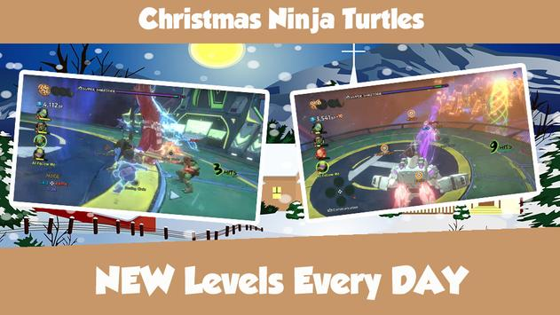 Christmas Ninja Turtles apk screenshot