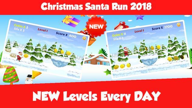 Christmas Santa Run 2018 Game apk screenshot