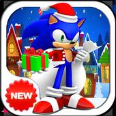 Christmas Sonic icon