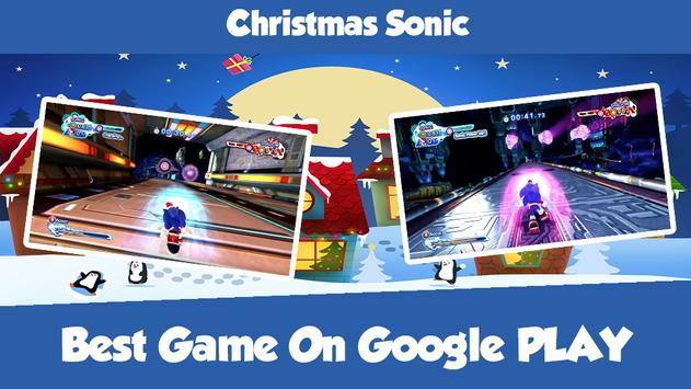 Christmas Sonic screenshot 2