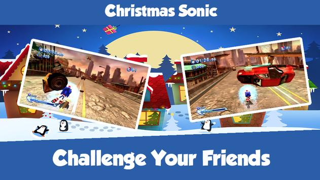 Christmas Sonic screenshot 3