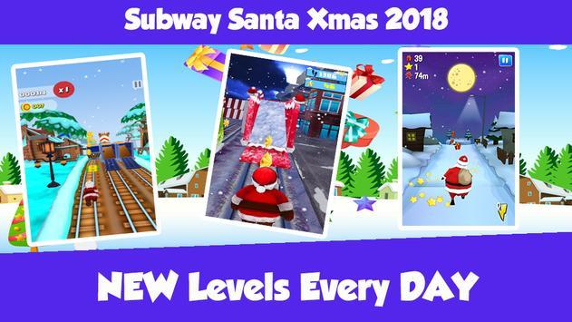 Subway Santa Xmas 2018 screenshot 2
