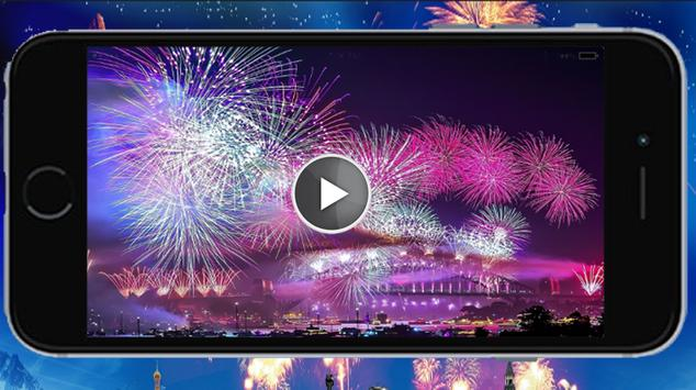 New Year Fireworks apk screenshot