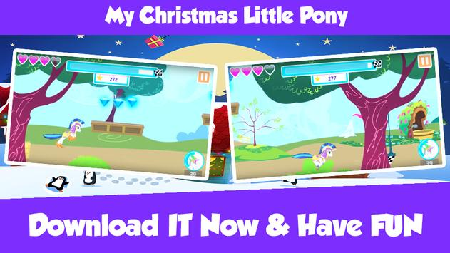 My Christmas Little Pony poster