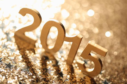 2015 New Year Live Wallpaper poster