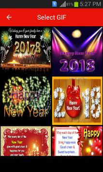 New Year Gif 2018 poster