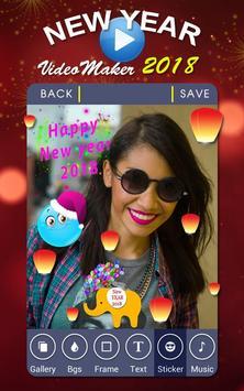 New Year Video Maker screenshot 3