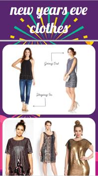 New Years Eve Clothes poster
