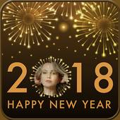 Happy New Year Photo Frames 2018 icon